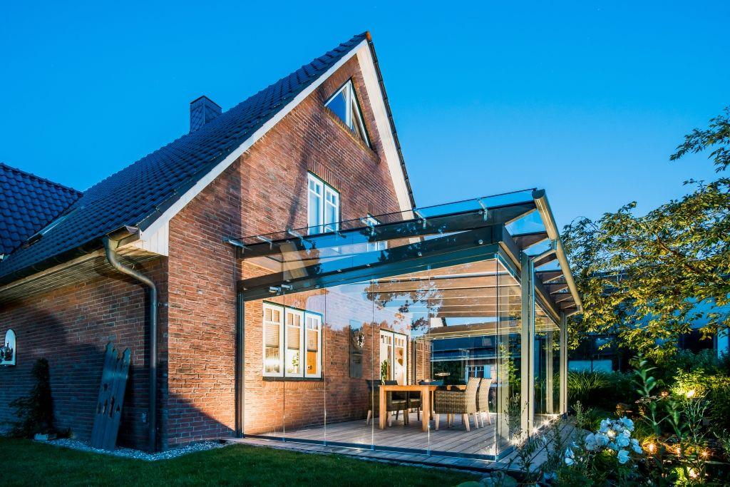 Solarlux Terrassendach Glashaus Sdl Aura