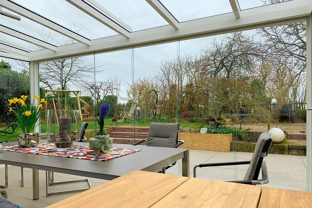Sommergarten Mit Terrassenanschluss